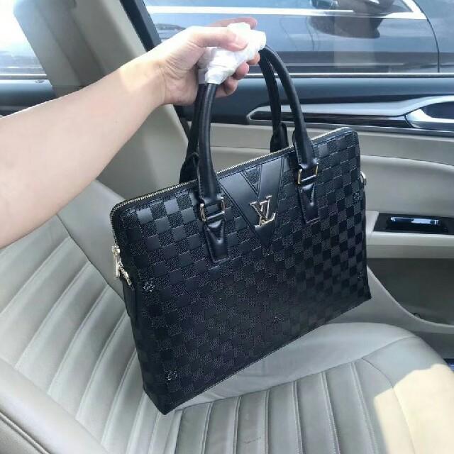 Gucci - 人気 ルイ・ヴィトン メンズ ビジネスバッグの通販 by 竹下 泳助's shop|グッチならラクマ