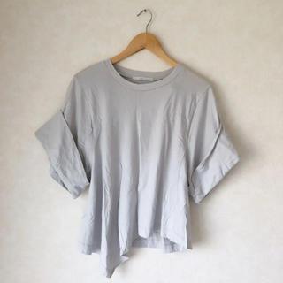 ケービーエフ(KBF)のKBF▷BIG スリーブTシャツ  アイスグレー(Tシャツ(半袖/袖なし))
