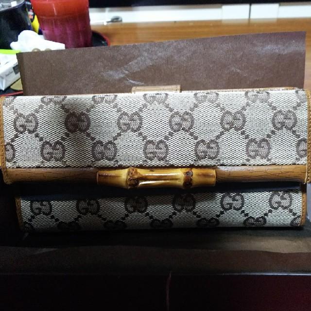 gucci 財布 おしゃれ | Gucci - バンブー財布の通販 by ちゃーちゃん's shop|グッチならラクマ