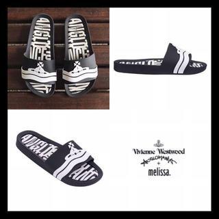 ヴィヴィアンウエストウッド(Vivienne Westwood)の日本未発売!新品◆Vivienne×melissa◆サンダル◆23cm(サンダル)
