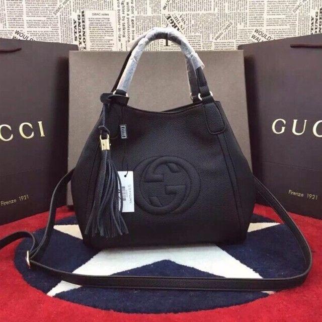 Gucci - Gucci グッチ トートバッグ 斜めがけOKの通販 by 白口 shop|グッチならラクマ