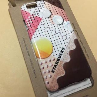 スターバックスコーヒー(Starbucks Coffee)のスターバックス スマホカバーiPhone6/6s用 (iPhoneケース)