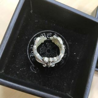 クロムハーツ(Chrome Hearts)の『正規品』クロムハーツ フローラルクロスリング (リング(指輪))