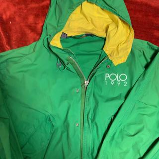 ポロラルフローレン(POLO RALPH LAUREN)のpolo summer モッズパーカー GRN 激レア polo 1992(ブルゾン)