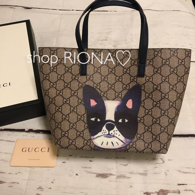 バッグ 激安50代 | Gucci - 新品 GUCCI グッチ グッチチルドレン トートバック 犬 ノベルティの通販 by RIONA♡ part3's shop|グッチならラクマ
