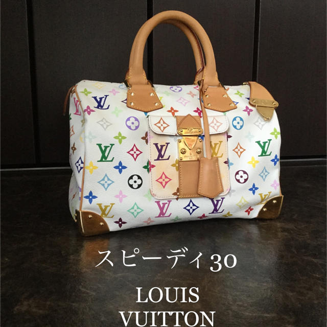 marc jacobs バッグ 激安 usj | LOUIS VUITTON - ★スピーディ 30 マルチカラー ブロン ルイヴィトン★の通販 by お値下げ交渉受付中‼️|ルイヴィトンならラクマ