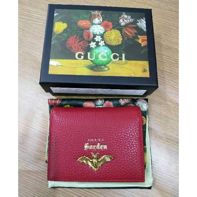 Gucci - GUCCI グッチ 財布 折り財布の通販 by 甲斐's shop|グッチならラクマ