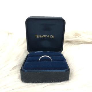 ティファニー(Tiffany & Co.)のティファニー クラシックバンドリング PT950 (リング(指輪))