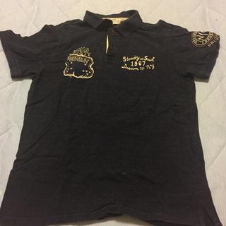 バックナンバー(BACK NUMBER)の【バックナンバー オールドファッション】Tシャツ ポロシャツ サイズM(ポロシャツ)