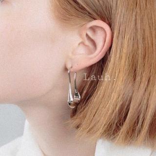 ハイク(HYKE)のj173.mini long drop pierce(silver)(ピアス)