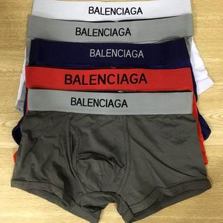 バレンシアガ(Balenciaga)のボクサーパンツ バレンシアガ 5点セット Mサイズ(ボクサーパンツ)