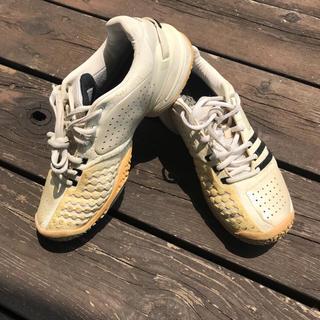 アディダス(adidas)のadidasテニスシューズ23.5㎝(シューズ)