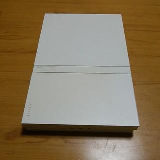 プレイステーション2(PlayStation2)のプレイステーション2 薄型 白 ジャンク品(家庭用ゲーム本体)