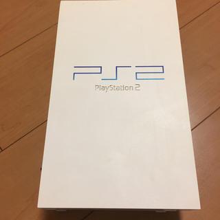 プレイステーション2(PlayStation2)のPS2 プレイステーション2本体 ホワイト 動作確認済(家庭用ゲーム本体)