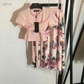 ドルチェアンドガッバーナ(DOLCE&GABBANA)のD&G半袖スカート2点セット美品19ss(ロングスカート)