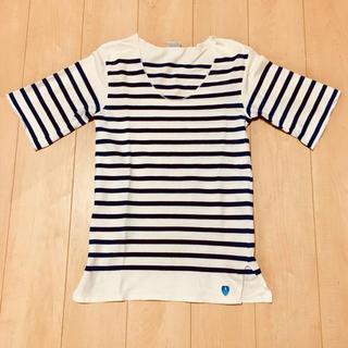 オーシバル(ORCIVAL)の《ORCIVAL》オーチバル☆Uネックボーダーカットソー(Tシャツ/カットソー(半袖/袖なし))