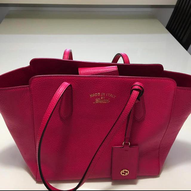 Gucci - 1点のみ❣️正規品 未使用に近い❣️GUCCI グッチ スウィングバッグの通販 by happy520's shop|グッチならラクマ