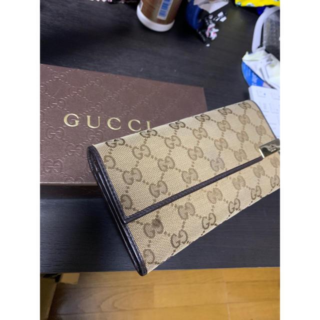 Gucci - GUCCI長財布の通販 by コメントくれたら値下げ交渉します!|グッチならラクマ