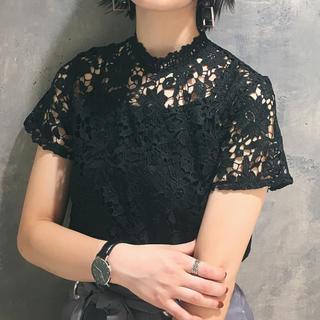 ムルーア(MURUA)のMURUA レーストップス(カットソー(半袖/袖なし))
