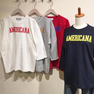 アメリカーナ(AMERICANA)のrul様専用☆AmericanaロゴロンT(Tシャツ(長袖/七分))