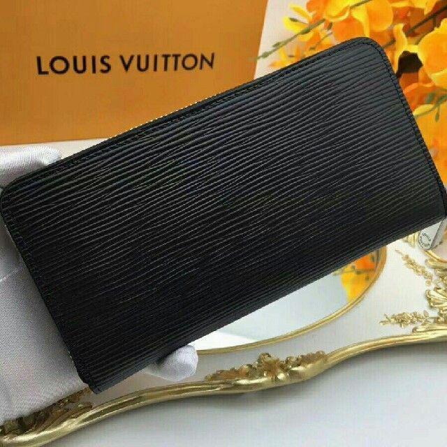 LOUIS VUITTON - ヴィトン長財布レディース新作 エピ 黒  ジッピー メンズ 安い の通販 by モイク's shop|ルイヴィトンならラクマ