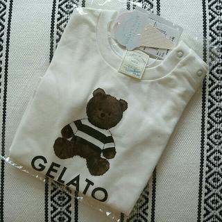 ジェラートピケ(gelato pique)のテディベアTシャツ(Tシャツ)