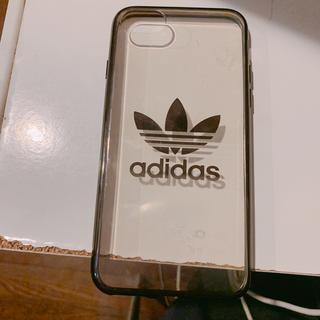 アディダス(adidas)の【⠀値下げ不可  】未使用に近い iPhone7ケース adidas(iPhoneケース)