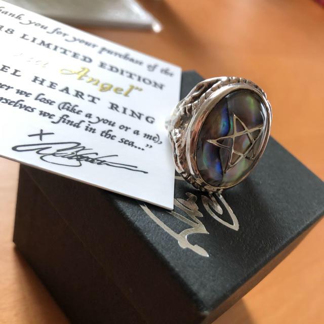 アレックスストリーターalex streeterアバロンシェル14号 メンズのアクセサリー(リング(指輪))の商品写真
