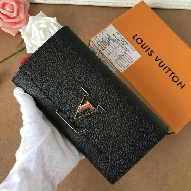 ズッカ 財布 激安本物 - LOUIS VUITTON - ルイヴィトン!ブラック、フック 高級長財布の通販 by ナトス's shop|ルイヴィトンならラクマ