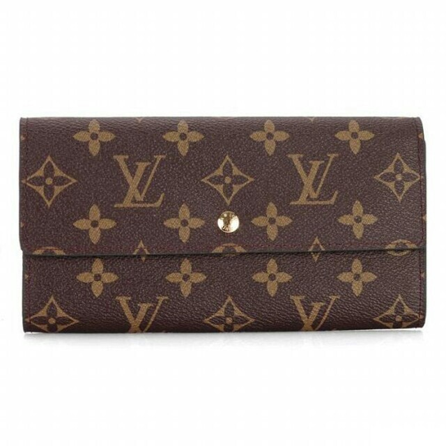 gucci 財布 おしゃれ - LOUIS VUITTON - LOUIS VUITTON ルイヴィトン 茶色 長財布 男女兼用