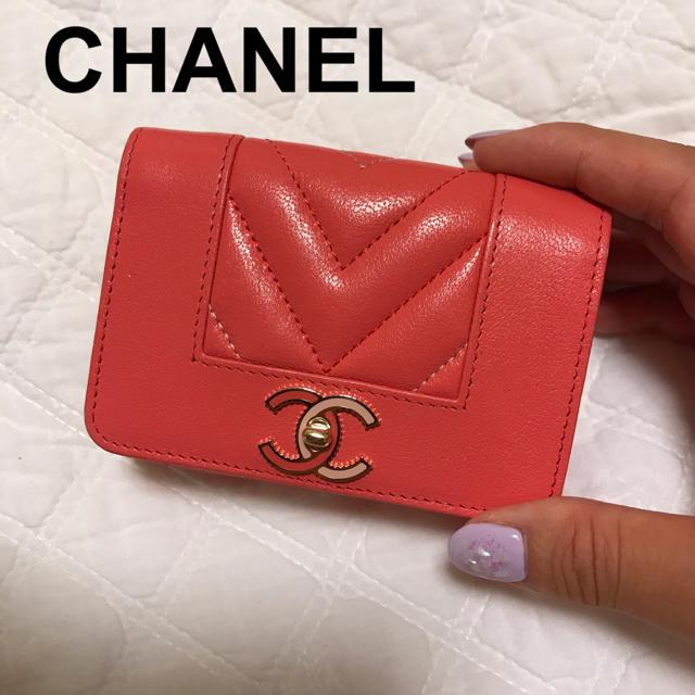 CHANEL - CHANEL♡ミニ財布の通販 by ♡...CLEO's shop|シャネルならラクマ