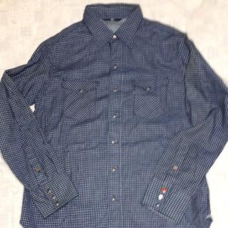 フォーティファイブアール(45R)の最終お値下げ 新品未使用 45R インディゴシャツ(シャツ)