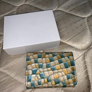ナノユニバース(nano・universe)のNananoel ナナノエル ステンドグラスレザー三つ折り財布(財布)