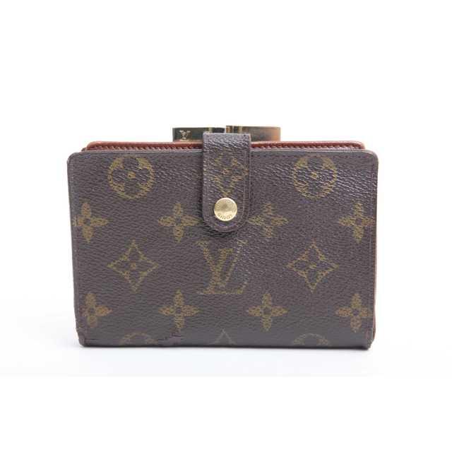 プラダ バッグ 激安 通販 zozo - LOUIS VUITTON - 美品 良品 本物 ルイ ヴィトン モノグラム がま口 二つ折り財布 正規品tの通販 by ご希望教えてください's shop|ルイヴィトンならラクマ