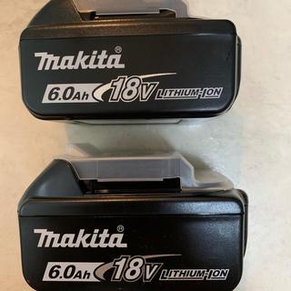 マキタ(Makita)の☆新品未使用 ☆マキタ ☆BL1860B ☆純正品 ☆2個セット(バッテリー/充電器)