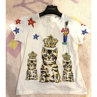 ドルチェアンドガッバーナ(DOLCE&GABBANA)のドルチェ&ガッバーナ キッズ トップス Tシャツサイズ11(Tシャツ(長袖/七分))