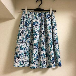 TIENS ecoute - 花柄スカート