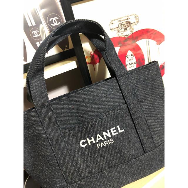 CHANEL - CHANEL デニム トートバッグ マザーズバッグ シャネル トートバック の通販 by HELLO♡'s shop|シャネルならラクマ