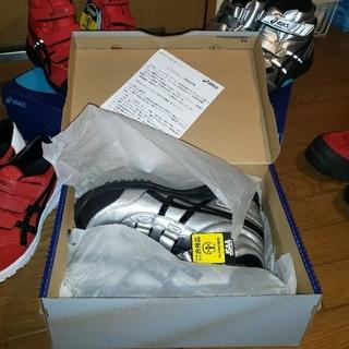 アシックス(asics)の27 新品 シルバー アシックス 安全靴 ウィンジョブ FIS53S asics(スニーカー)