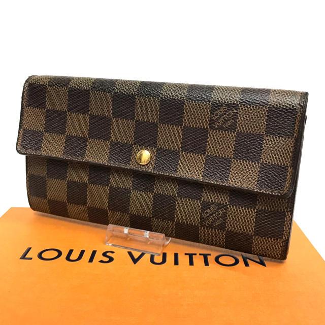 ディオールエキゾチックバッグ偽物 口コミ - LOUIS VUITTON - ルイヴィトン ダミエ 長財布 可愛い サラ 定番モデル 人気 使いやすいの通販 by はな|ルイヴィトンならラクマ