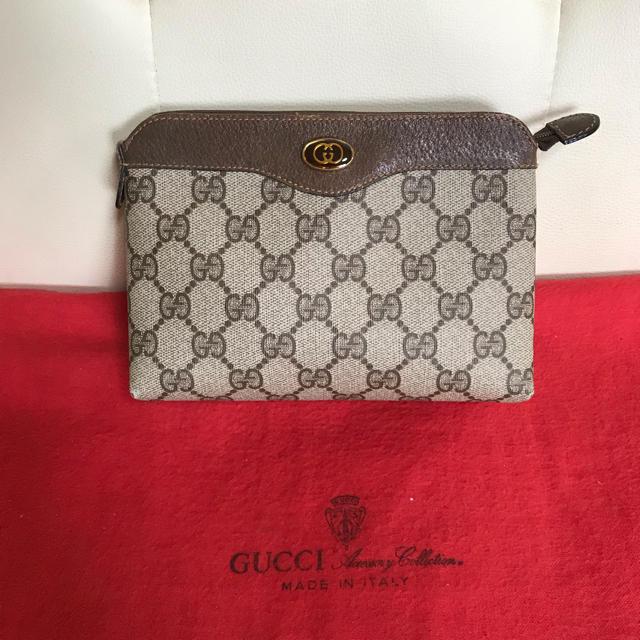 Gucci - 極 美品 GUCCI オールド グッチ クラッチ セカンド バッグ ポーチの通販 by Safari|グッチならラクマ