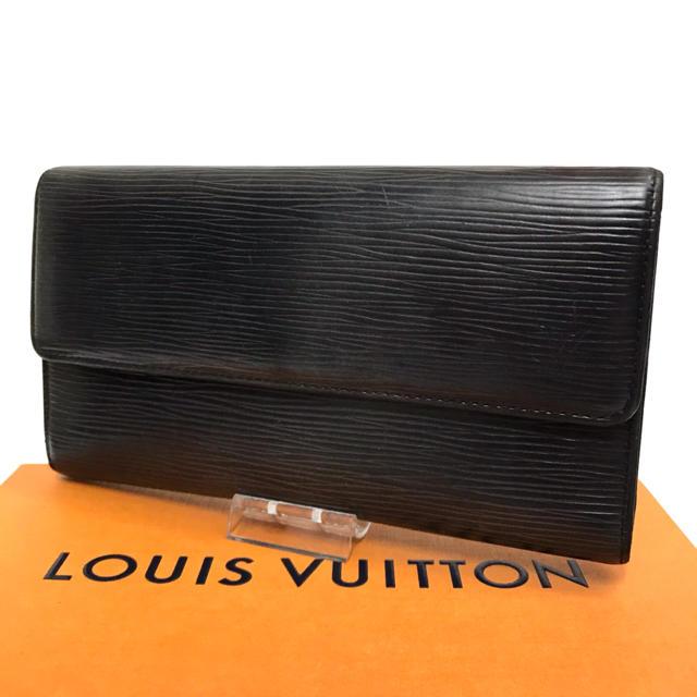 ロエベミニバッグコピー 完璧複製 / LOUIS VUITTON - ルイヴィトン エピ 長財布 ブラック 三つ折り財布 使いやすい ポケット広々の通販 by はな|ルイヴィトンならラクマ