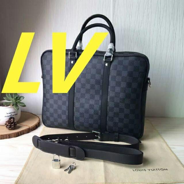 LOUIS VUITTON - ルイヴィトン ビジネスバッグの通販 by 砂守裕子's shop|ルイヴィトンならラクマ