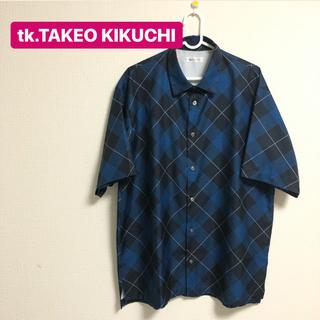 ティーケー(TK)のtk.TAKEO KIKUCHI アーガイルチェック半袖シャツ (シャツ)