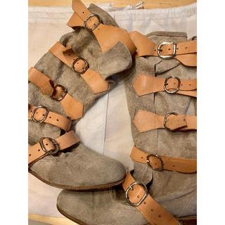 ヴィヴィアンウエストウッド(Vivienne Westwood)の90年代 古いモデルのパイレーツブーツ(ブーツ)