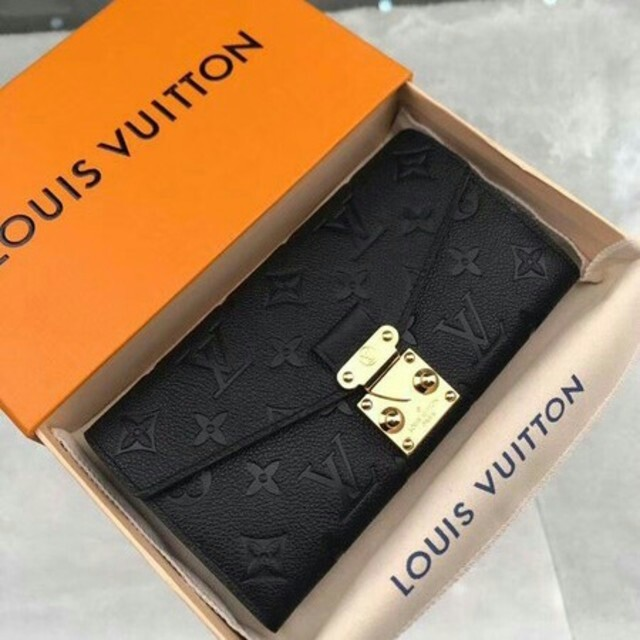 LOUIS VUITTON - ルイヴィトンLOUIS VUITTON 長財布、黒、の通販 by あるん's shop|ルイヴィトンならラクマ