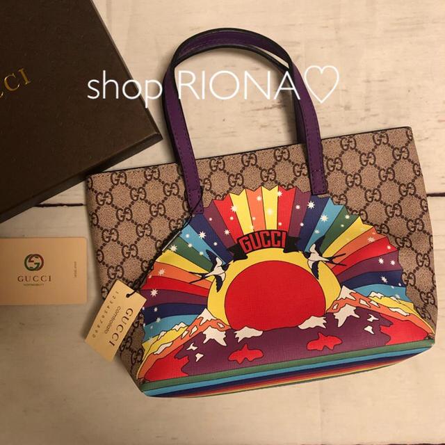 Gucci - 新品 新作 GUCCI グッチ グッチチルドレン トートバック ノベルティの通販 by RIONA♡ part3's shop|グッチならラクマ