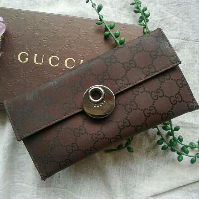 Gucci - GUCCI GGキャンバス Wホックの通販 by サッチー's shop|グッチならラクマ
