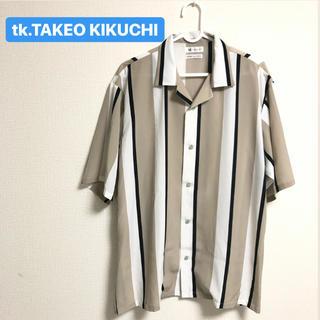 ティーケー(TK)のtk.TAKEO KIKUCHI 半袖オープンカラーシャツ (シャツ)