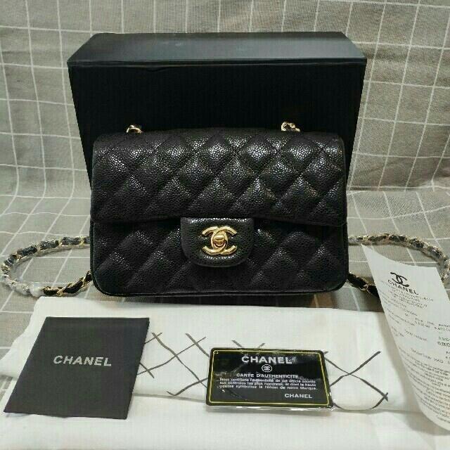 CHANEL - CHANELキャビアスキン マトラッセ チェーン ショルダーバッグの通販 by ウイタ's shop|シャネルならラクマ